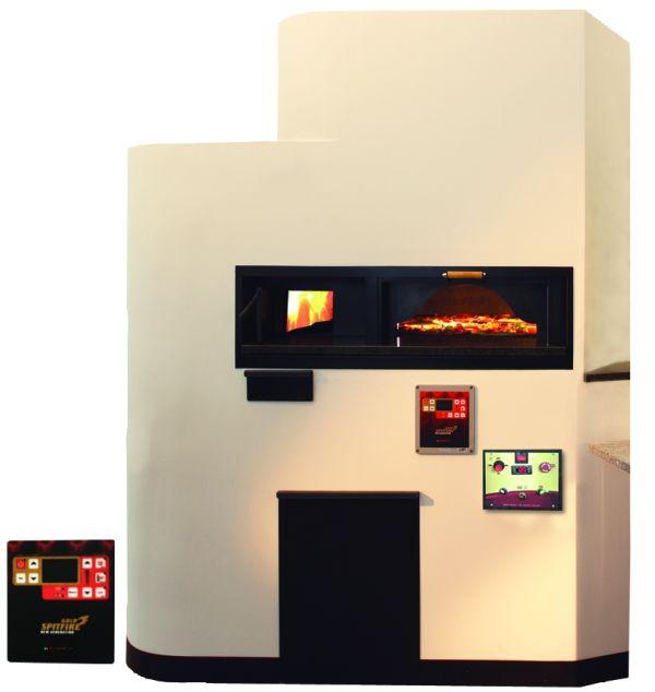 gas fen mit rotierender backplatte helar pizza fen aus. Black Bedroom Furniture Sets. Home Design Ideas